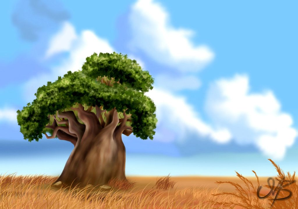 Tree Of Life Lion King Fan Art Tree Of Life Lion King