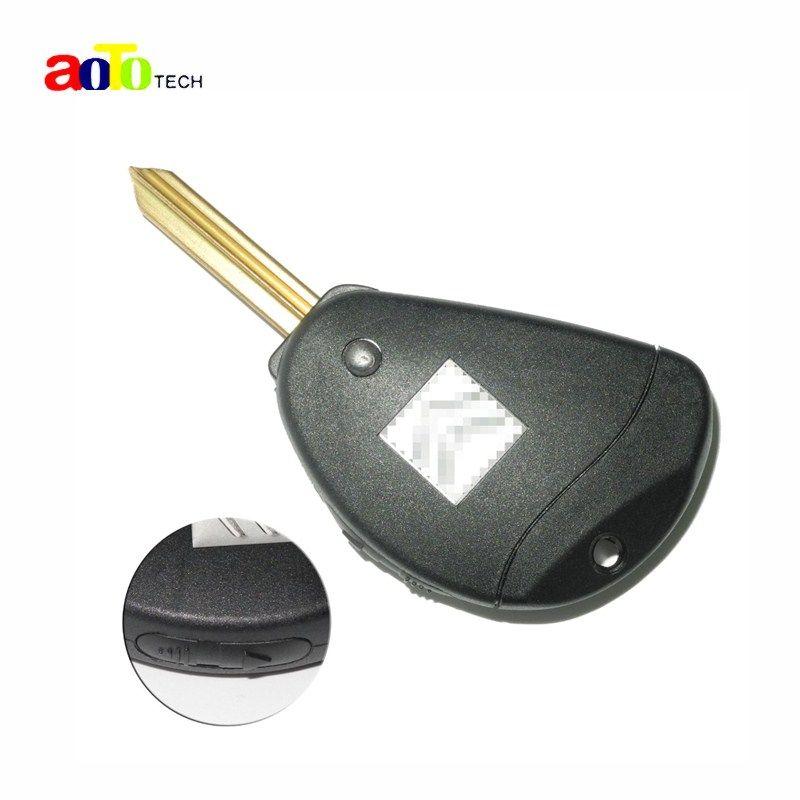 2 Buttons Key Fob Case for Citroen Evasion Synergie Xsara Xantia