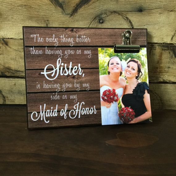 Maid Of Honor Gift, Bridesmaid Proposal, The Only Thing