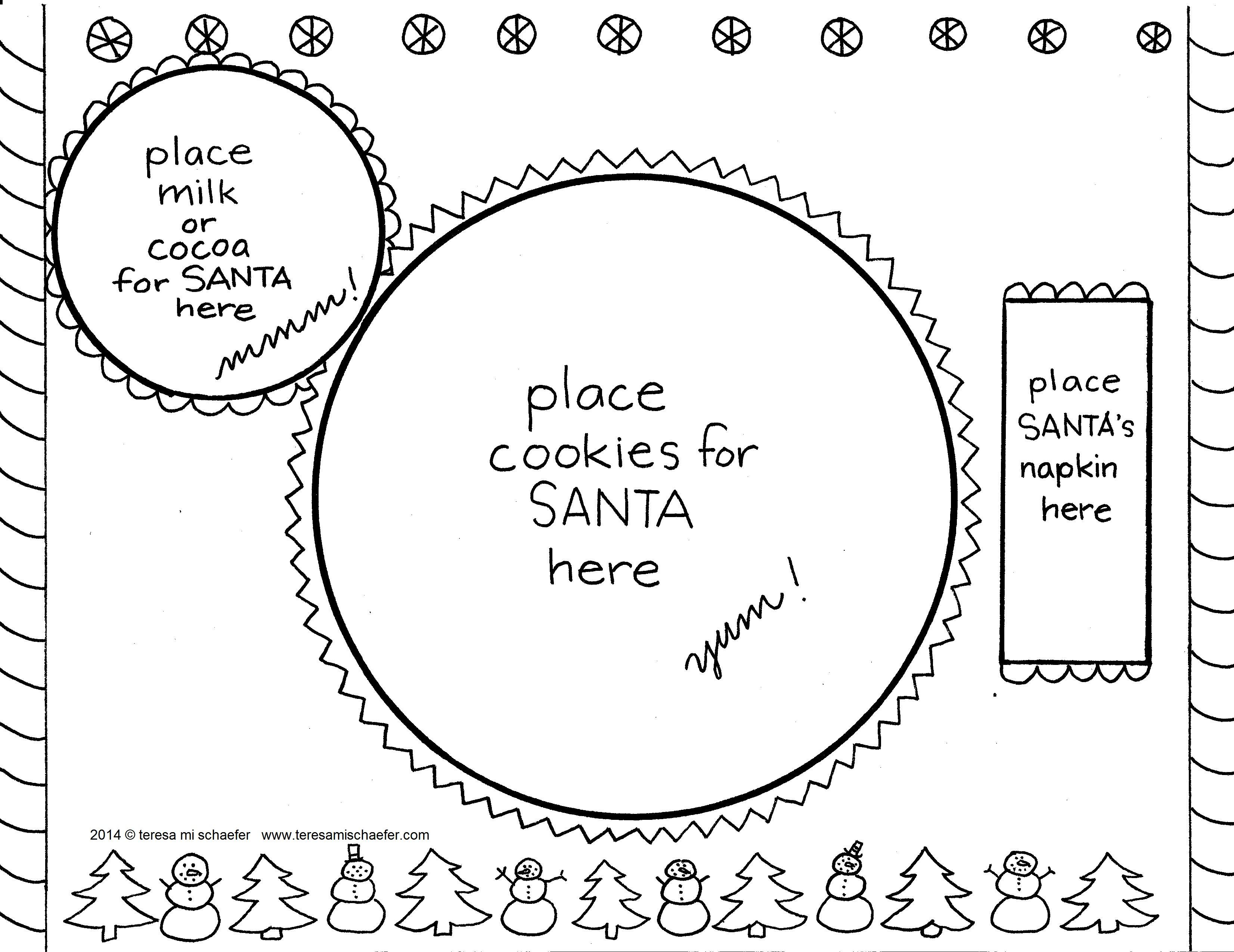 Teresa Mi Schaefer On The Way To The Library Home Page Advent Coloring Christmas Colors Christmas Countdown