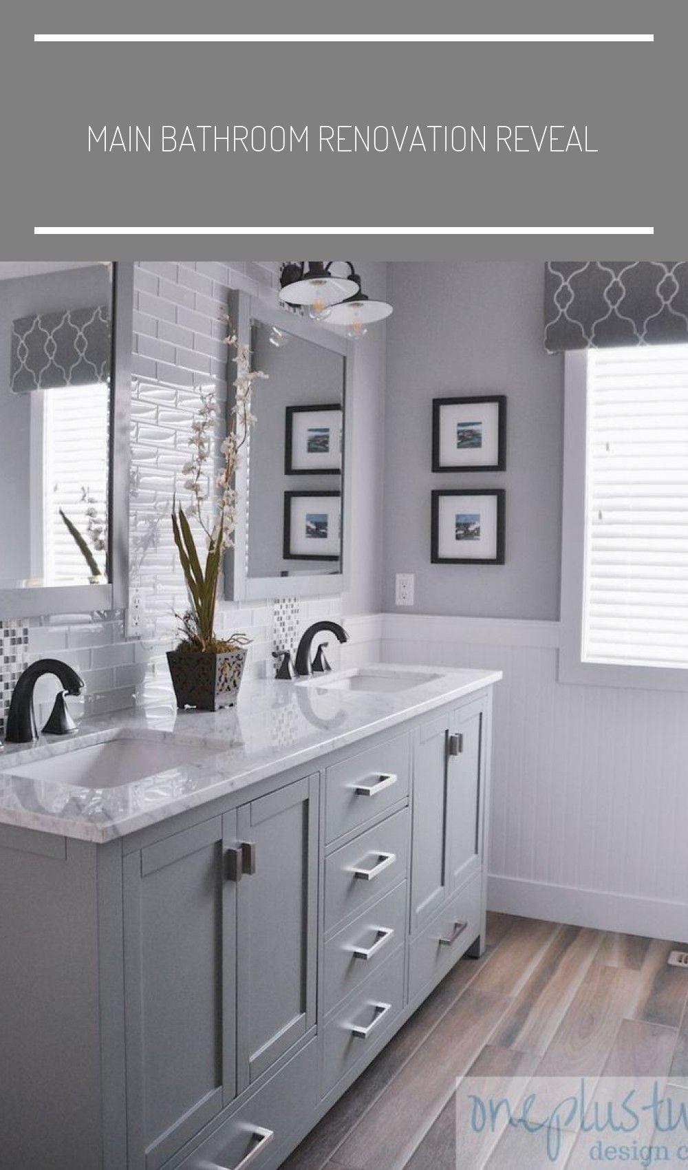 Main Bathroom Renovation Revea I 2020
