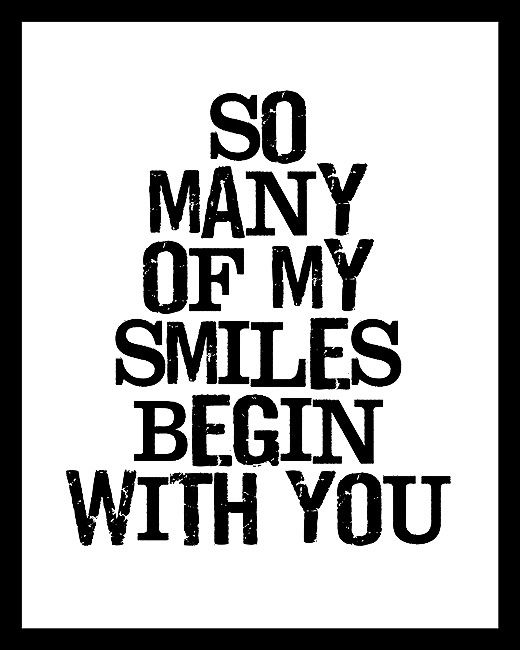 You Are My Reason To Smile Positive Worte Lieblingszitate Worter