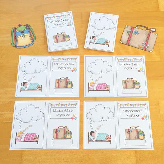 Tagebuch schreiben auf Klassenfahrt  Klassenfahrt