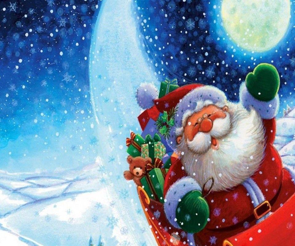Pin Auf Weihnachtsmann