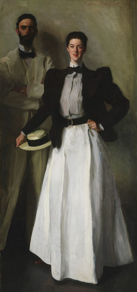 Mr. and Mrs. I. N. Phelps Stokes, 1897
