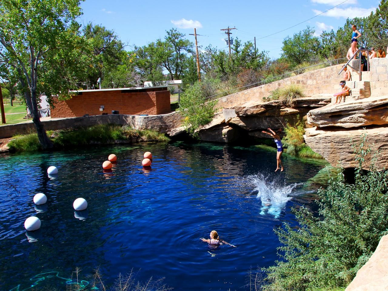 America 39 S Secret Swimming Holes Blue Hole Swimming Holes And Route 66