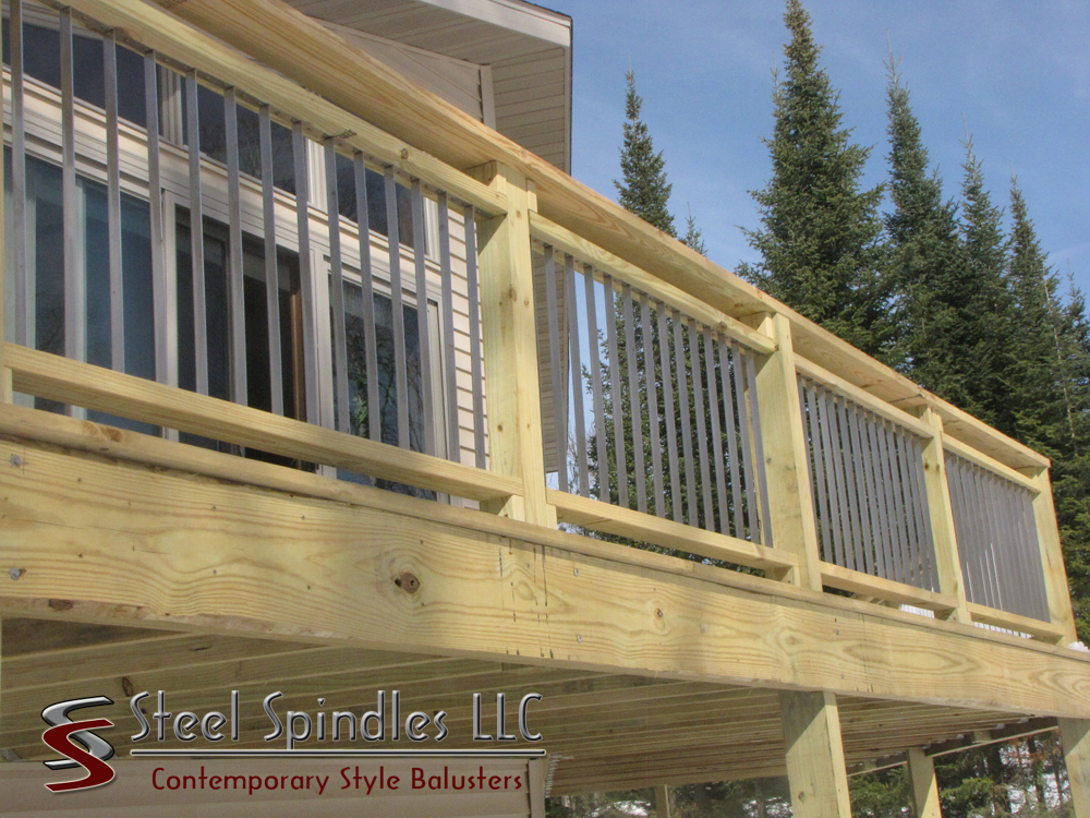 The Stratospindle With Images Deck Balusters Deck Spindles