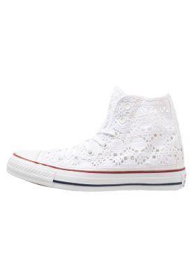 CHUCK TAYLOR ALL STAR - Korkeavartiset tennarit - white