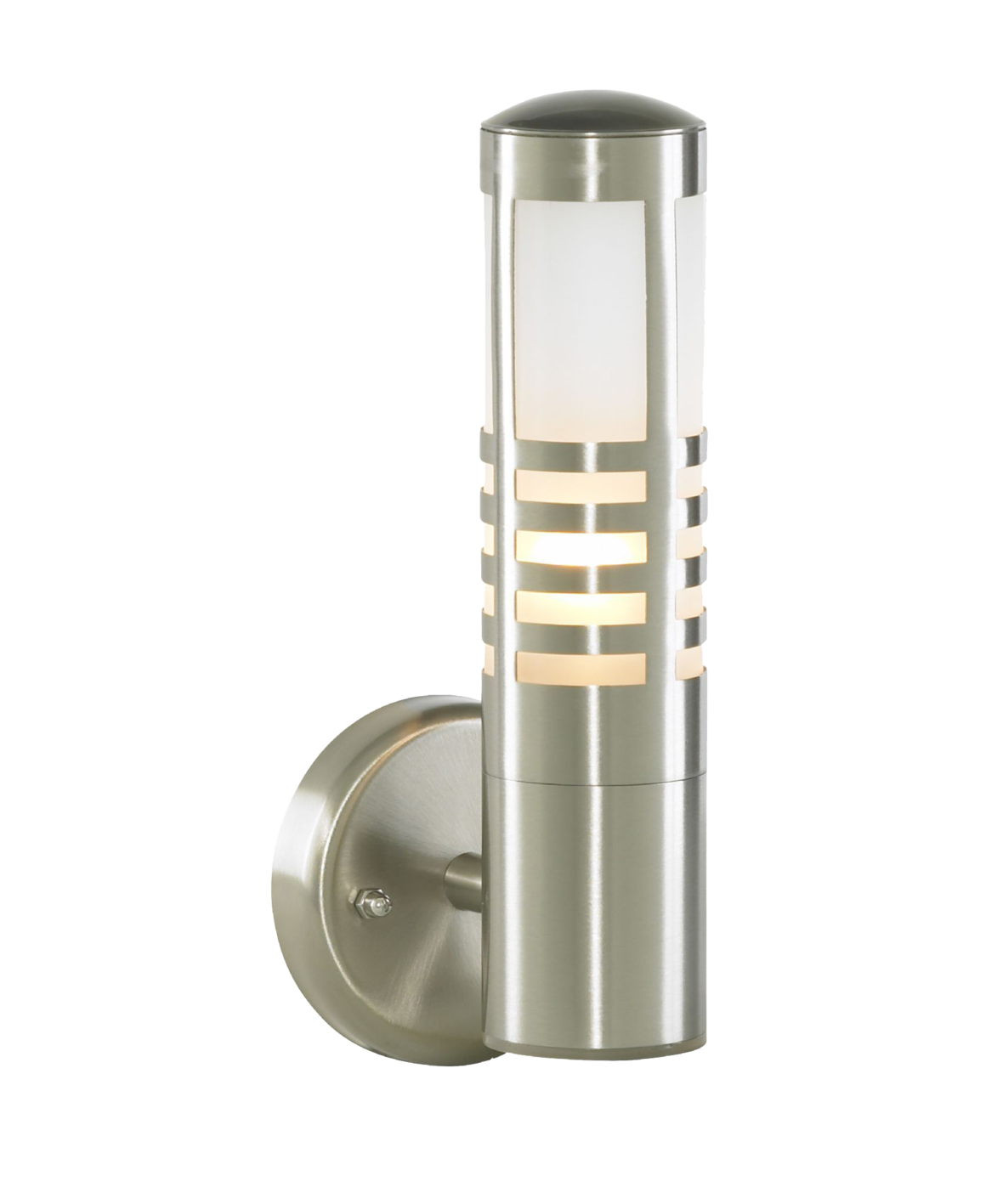 Lampsy stainless steel slatted outdoor wall light outdoor wall