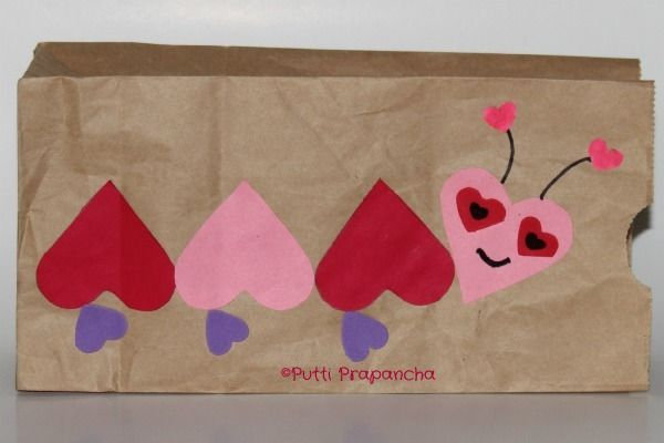 Cute Way To Decorate A Bag For Valentines Teacher Ideas