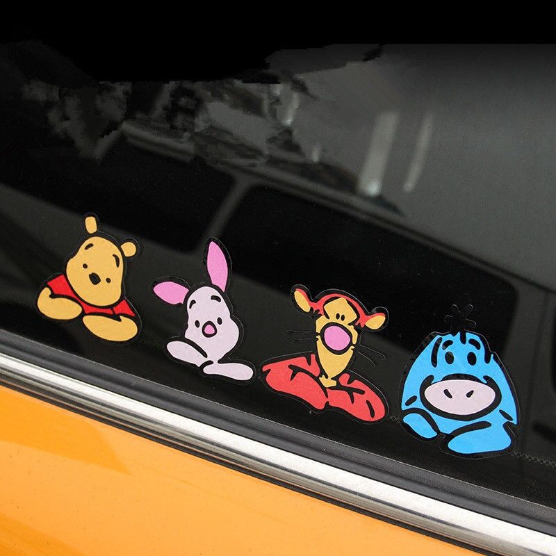 Mini Cooper Disney Family Car Decals