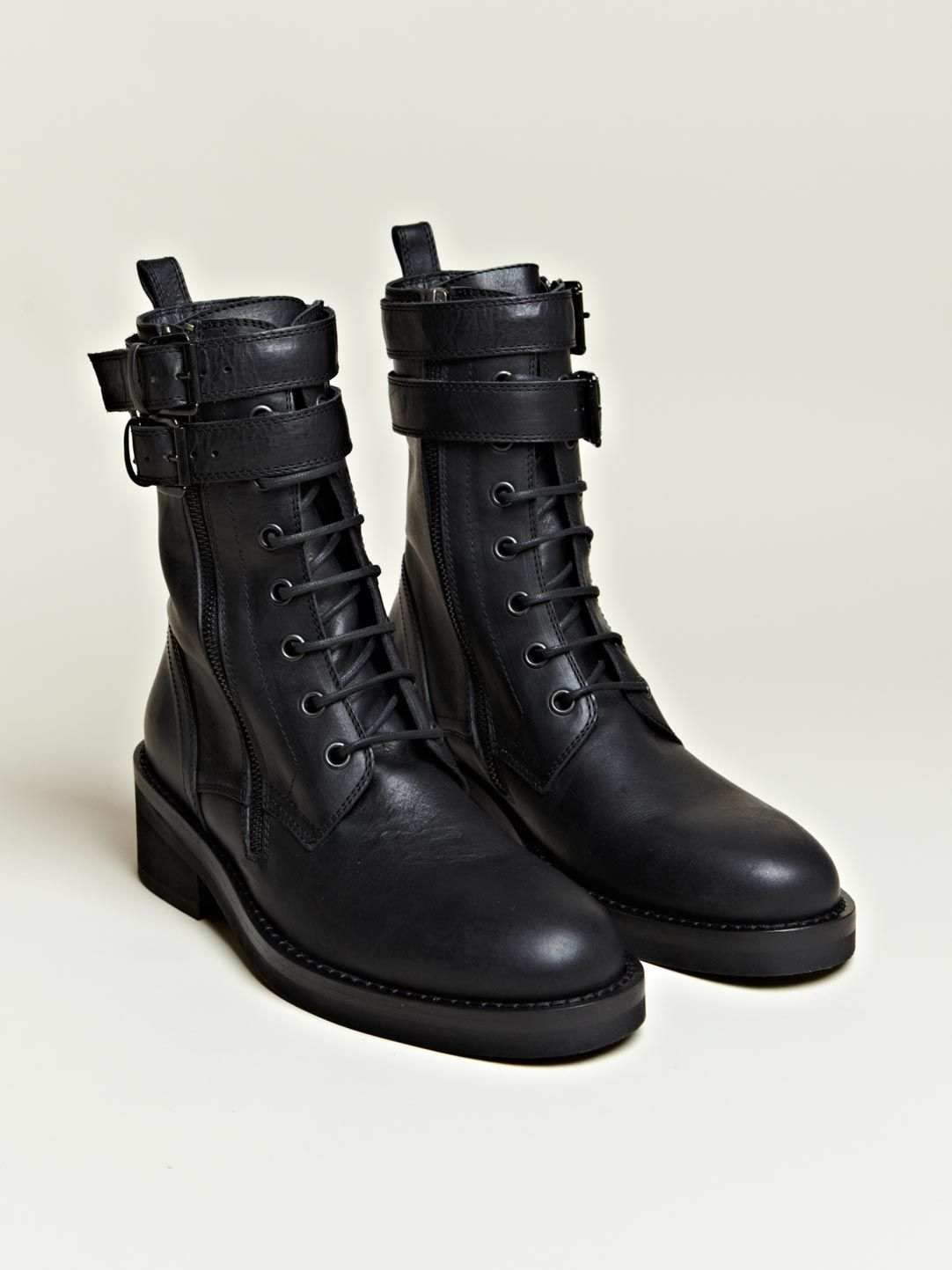 designer womens combat boots