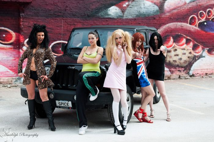 Spice Girls Group Cosplay Http://geekxgirls.com/article