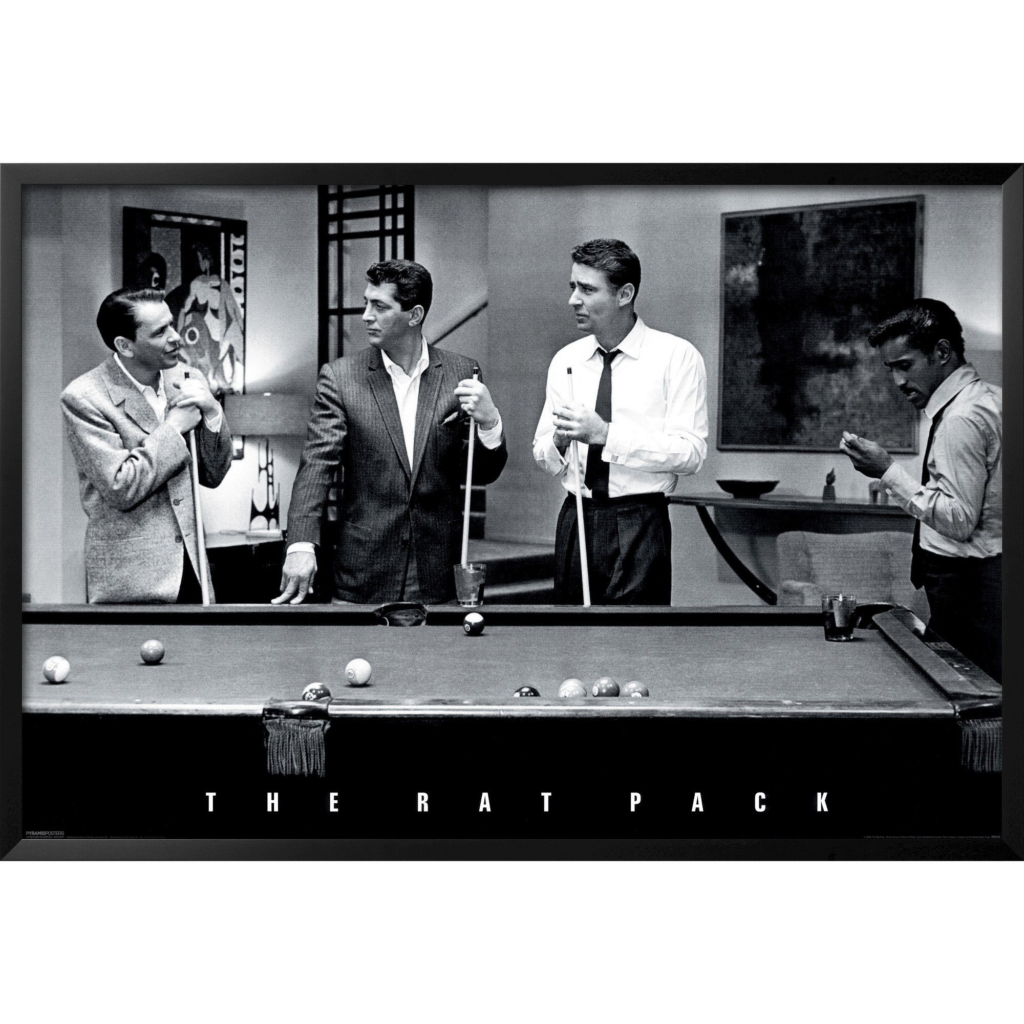 Artcom The Rat Pack Framed Poster In 2019 Products Rats