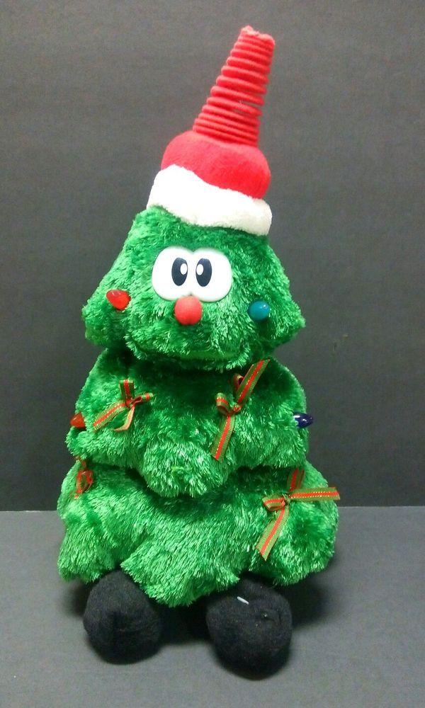 Who Sang Rockin Around The Christmas Tree.Singing Dancing Christmas Tree Animated Sings Rocking Around