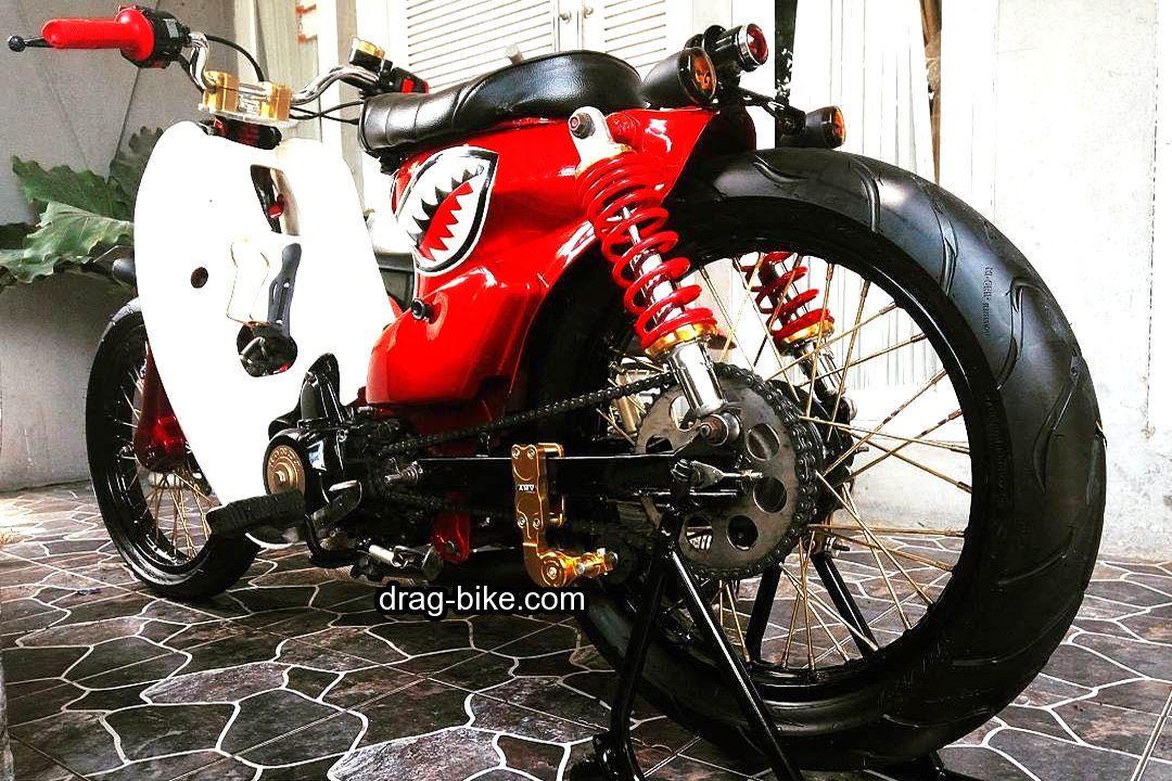 40 Foto Gambar Modifikasi Honda C70 Kontes Airbrush Klasik Keren Terbaru Drag Bike Com Di 2020 Honda Airbrush Klasik