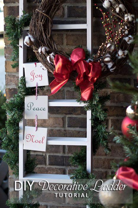 Diy Decorative Ladder Tutorial Your Home