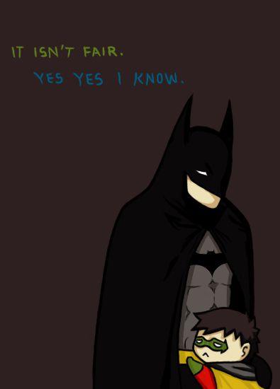 Batman & Robin (c) to DC comics  Tim bullied Damian  Now