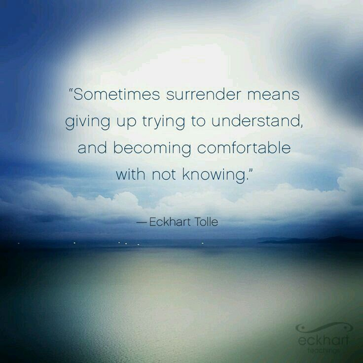 Image result for eckhart tolle sometimes understand
