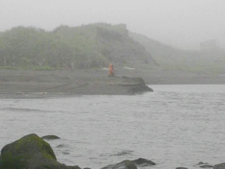 Jayden In The Fog Love Fog Beach Aleutian Islands Atka Alaska