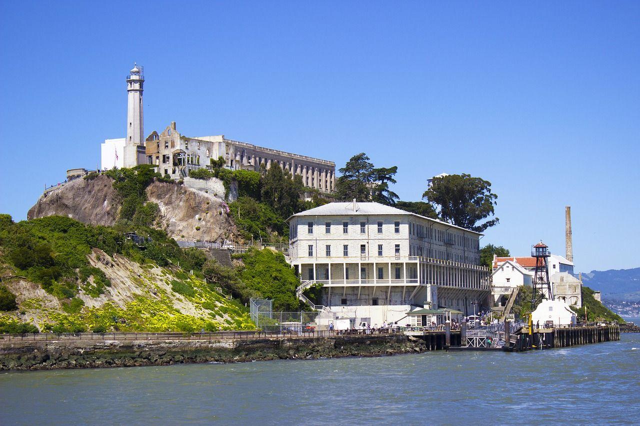 Alcatraz prison photograph