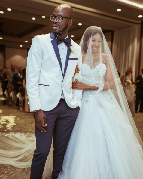 Celebrities Wedding Gowns: South African Celebrity Couples 2018
