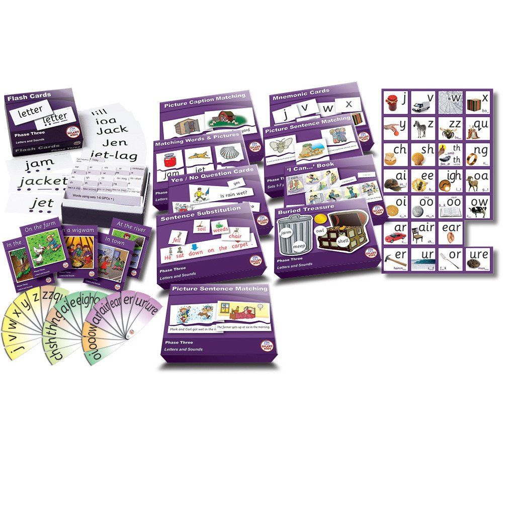 Phase 3 Kit Teaching, Picture letters, Letter sounds