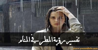 تفسير رؤية المطر في المنام لابن سيرين وعبد الغني النابلسي Movie Posters Rain Dream