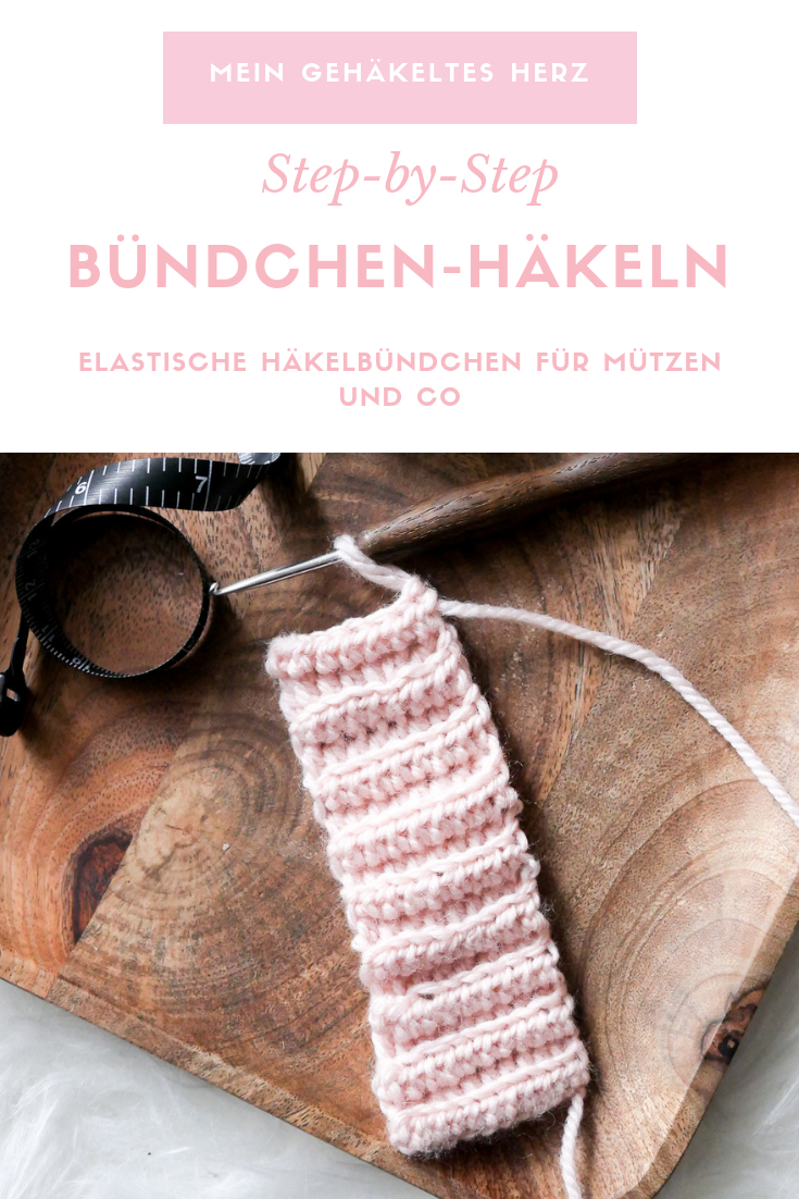 Photo of Crochet cuffs – so you crochet an elastic cuff