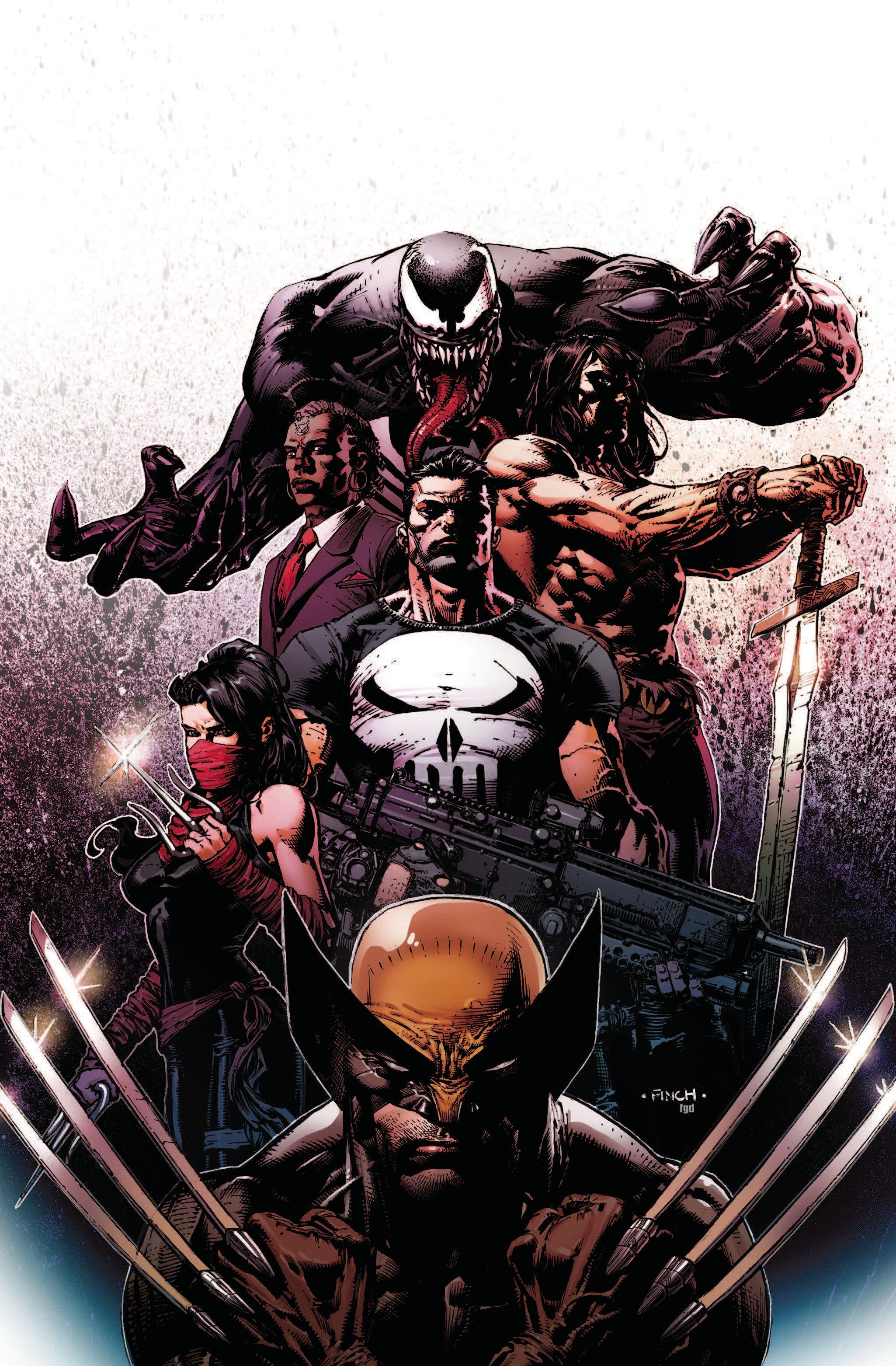 Savage Avengers #2 Main Cover STOCK PHOTO Marvel 2019