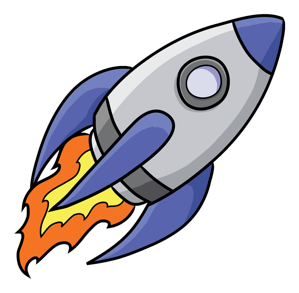 Free to Use Public Domain Rocketship Clip Art | Cartoon spaceship, Clip  art, Art images
