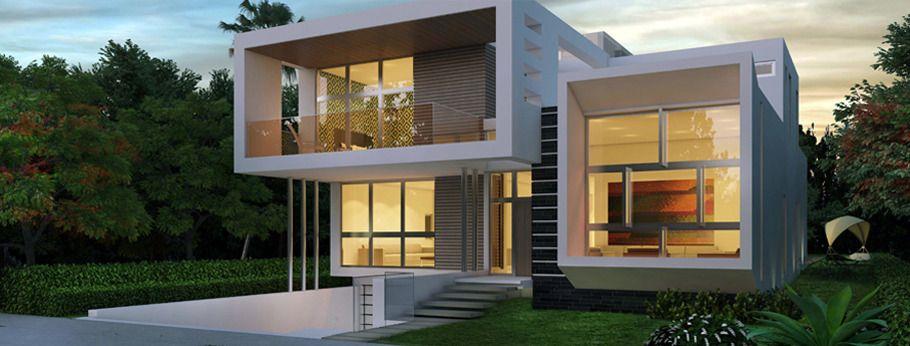 casas modernas en venta en miami brickell villa 4 Casas