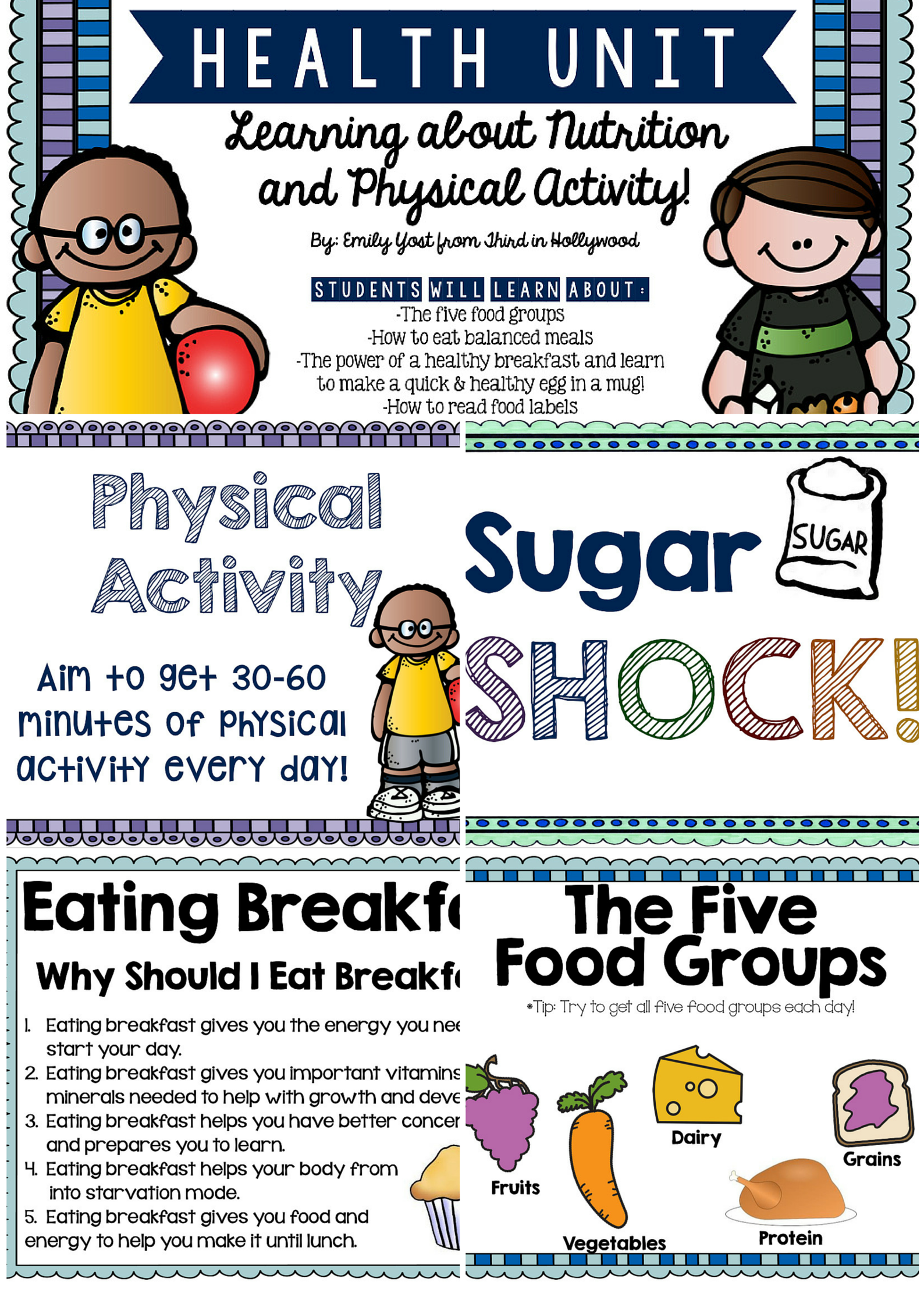 Health Unit Nutrition And Physical Activity
