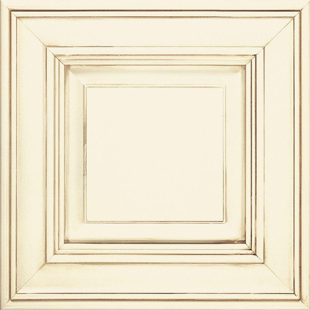 Thomasville 14.5x14.5 in. Cabinet Door Sample in Camden Cotton with ...
