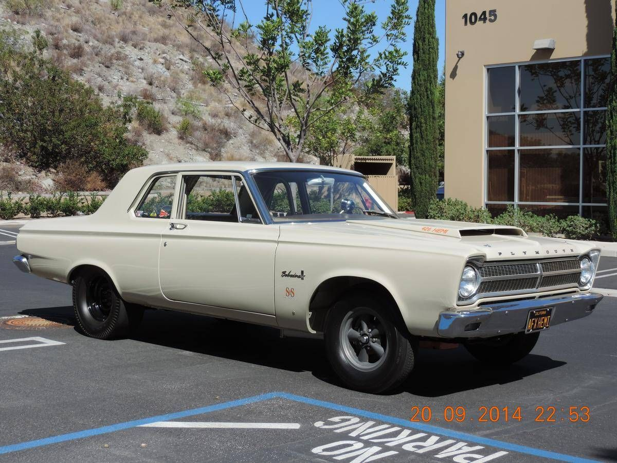 1965 Plymouth Belvedere A-990 Acid Dipped Factory Race Car for ...