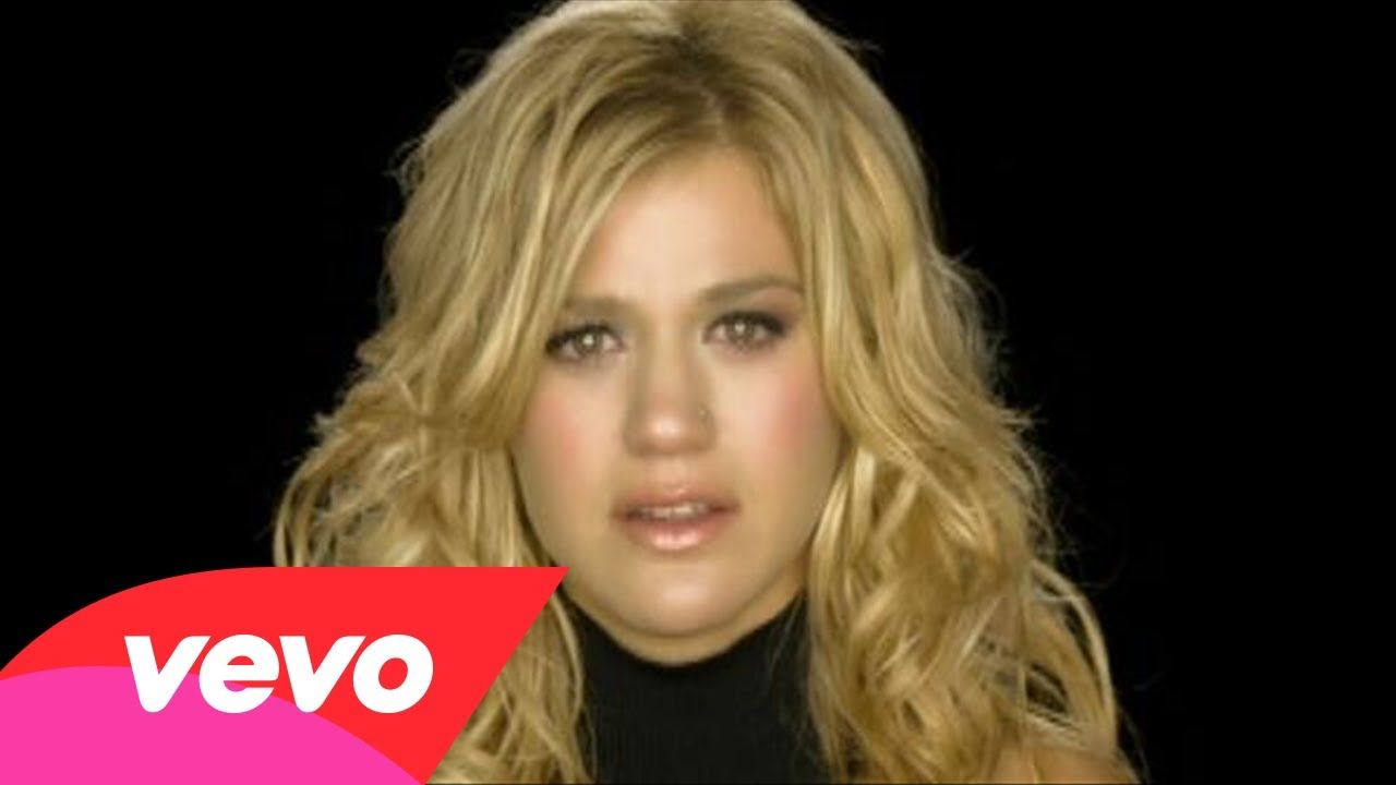 Because Of You I Learned To Play On The Safe Side So I Don T Get Hurt Because Of You I Find It Hard To Trust Because Of Kelly Clarkson Muzyka