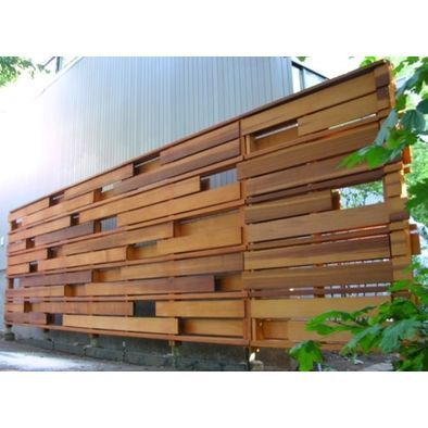 Contemporary Fencing Horizontal Fence Styles Fence Pinterest