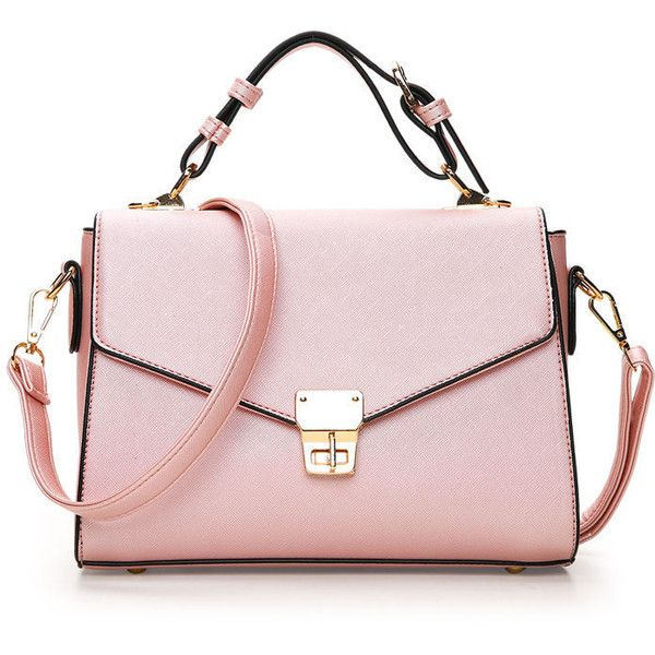 Envelope Satchel Bag 2 330 Inr Liked On Polyvore Featuring Bags Handbags Pink Style Purses