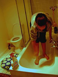 Unclog A Bathtub Drain Bathtub Drain Drain Repair Bathtub