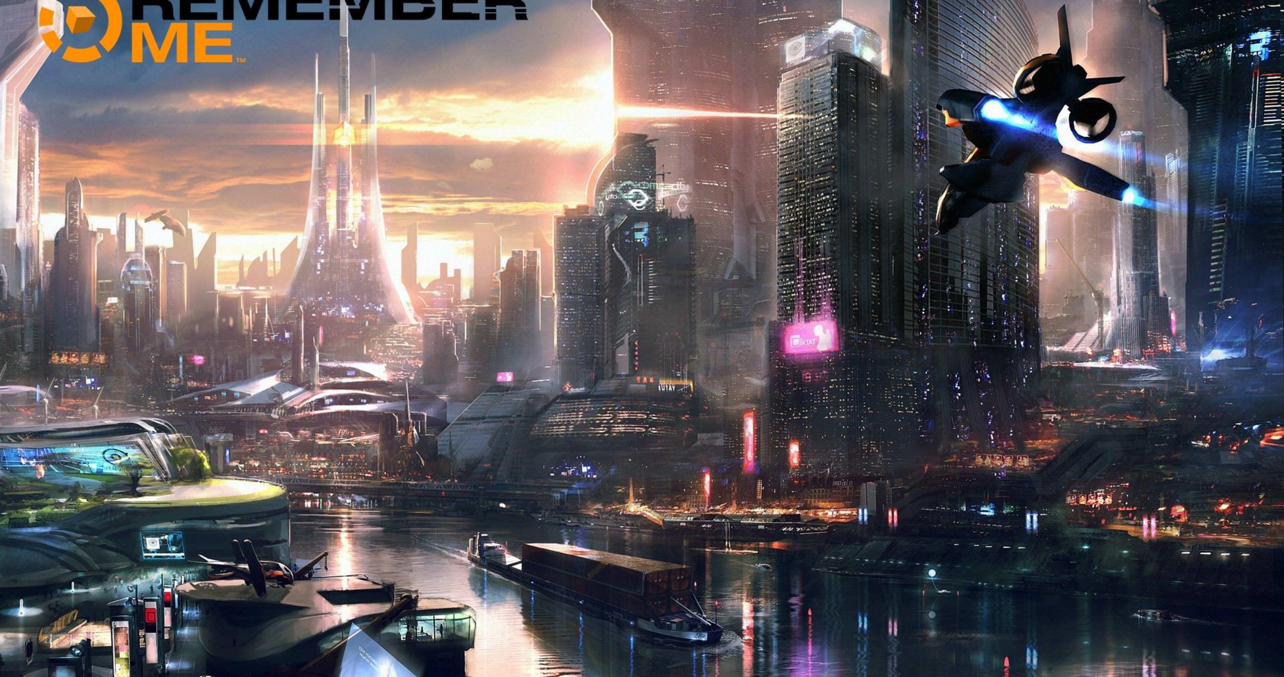 Remember Me Game 4k Ultra Hd Wallpaper Futuristic City Sci Fi City Cyberpunk City
