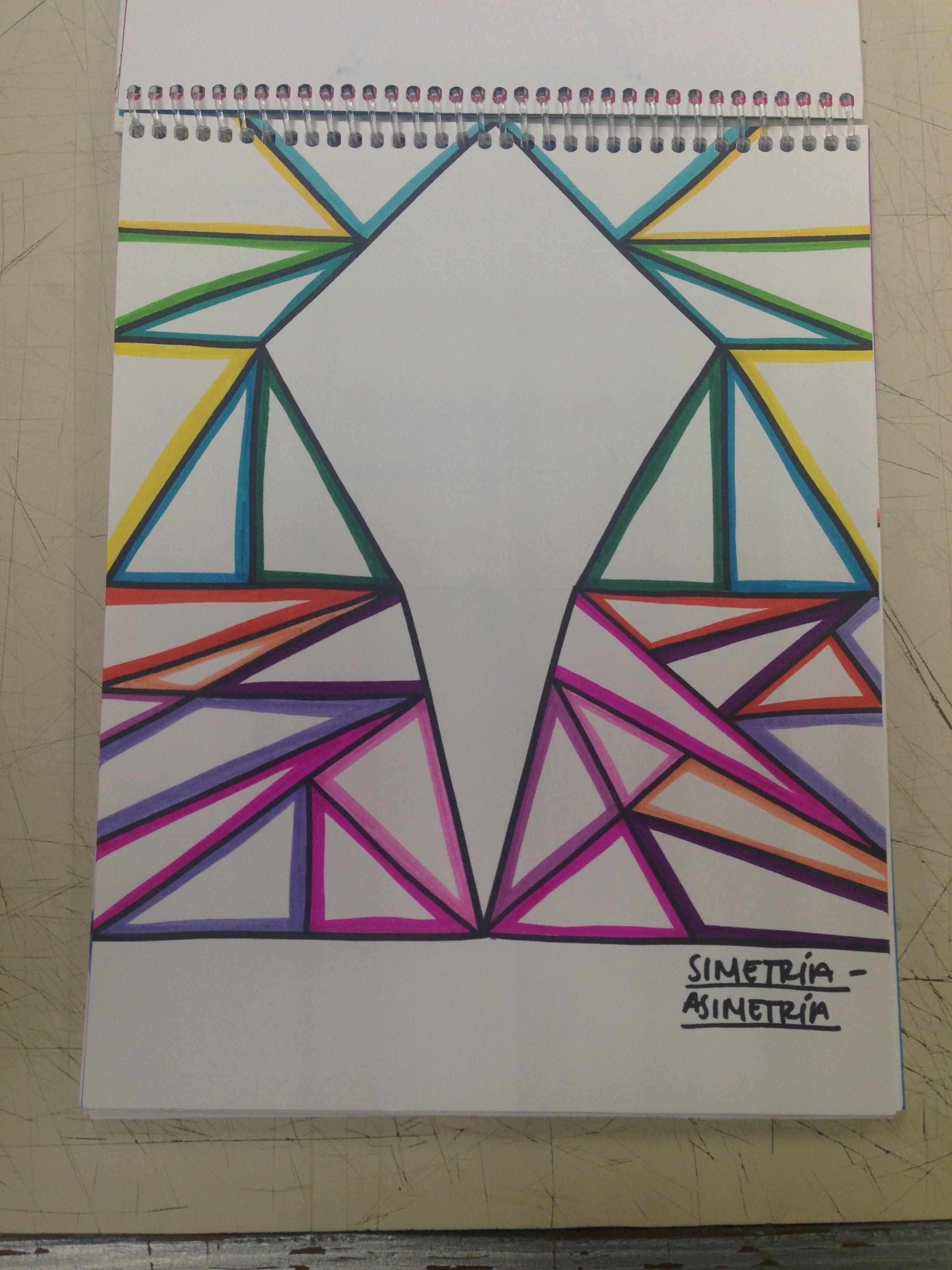 Elementos Del Diseno Simetria Asimetria Design