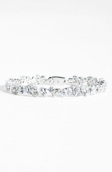 Nadri Cubic Zirconia Cluster Line Bracelet Nordstrom Exclusive