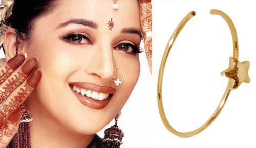 Cute Hoop Nose Rings Hindu Style Large Diameter Nose Hoop