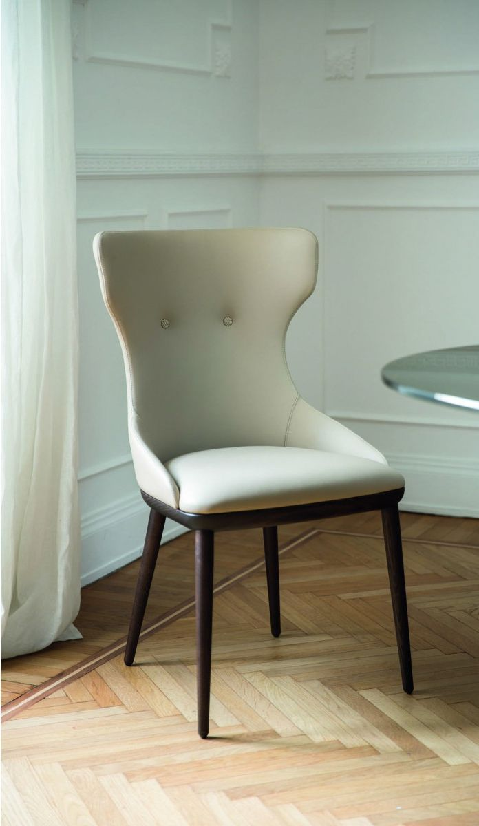 Andy, Porada | Transitional dining chairs, Italian ...