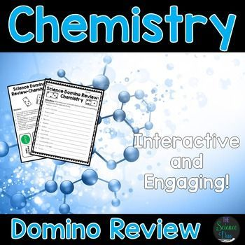 Chemistry domino review chemistry activities and periodic table chemistry science domino review activity make learning and reviewing chemistry vocabulary more fun urtaz Choice Image