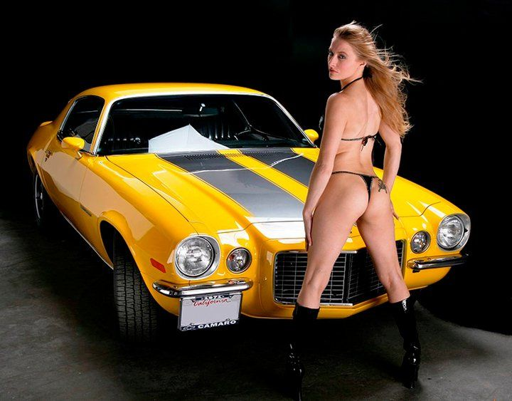 Hot babe in camaro sees my dick 8