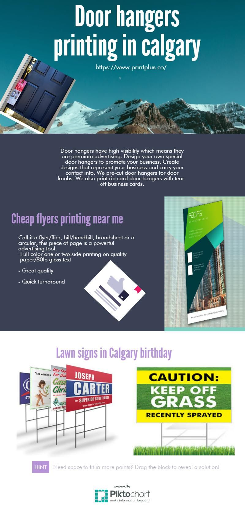 We provide the printing service in your city Calgary. | flyers ...