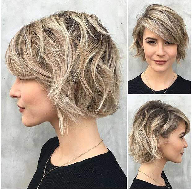 Terrific 31 Cool Balayage Ideas For Short Hair Bobs Ash And Ash Blonde Bob Hairstyle Inspiration Daily Dogsangcom