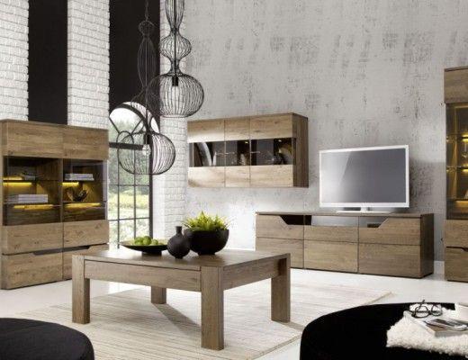 Ideas de decoraci n en tonos grises y maderas for Muebles diseno minimalista