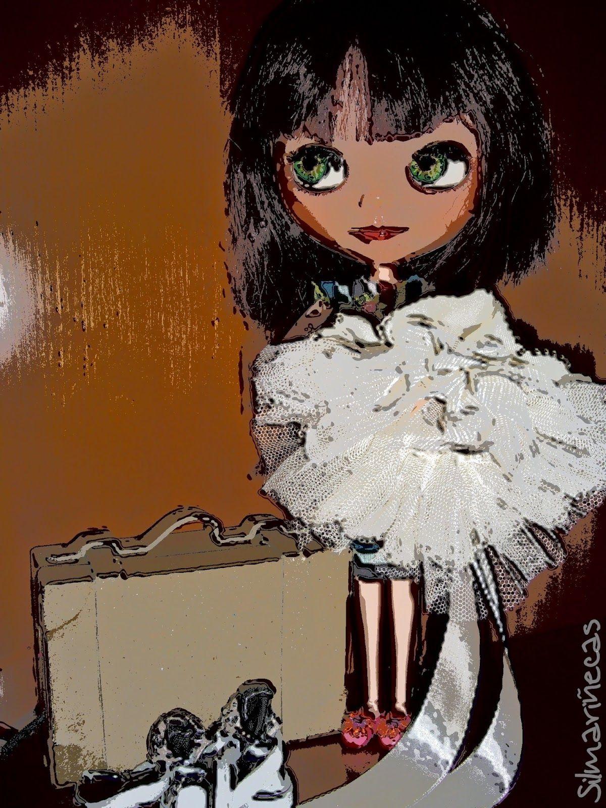Mi basaak doll, Caty, haciendo la maleta